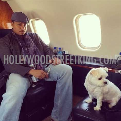 terrence-howard-shrimp-private-jet
