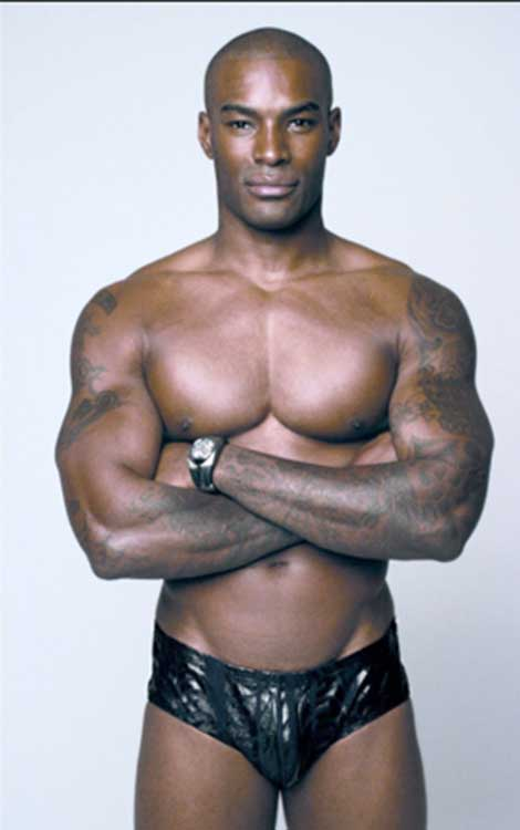 Tyson Beckford Chocolate City Stripper