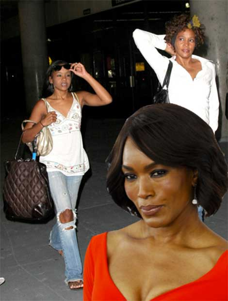 Angela Bassett vs Bobbi Kris