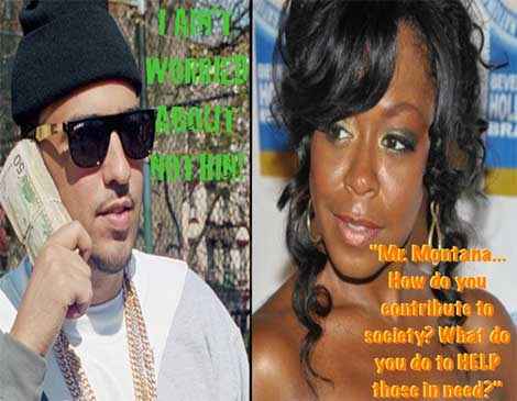 French Montana vs Tichina Arnold