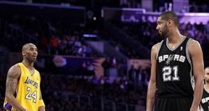 Kobe vs Tim Duncan