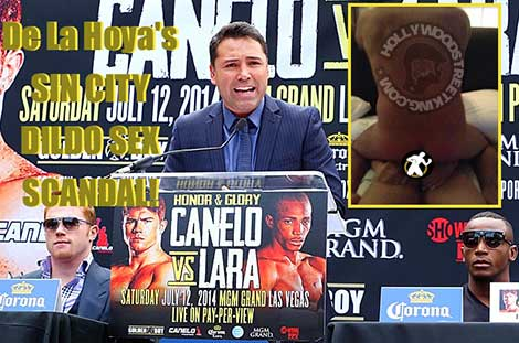 Oscar De La Hoya Back Door Action