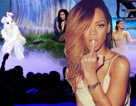 Rihanna Dubs BET Awards Corny