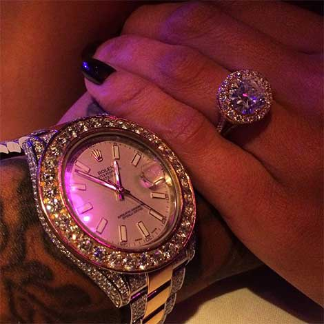 erica-mena-bow-wow-engaged