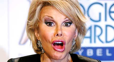 Joan Rivers Selfie