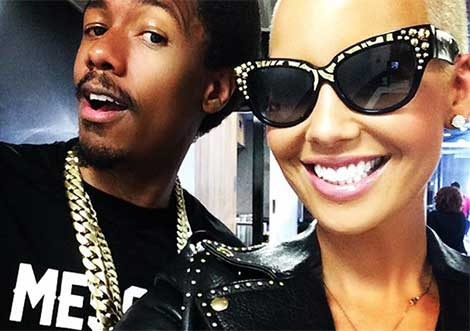 Nick Cannon Amber Rose