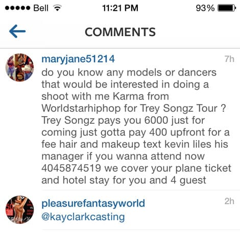 Fake Kevin Liles Trey Songz Scam