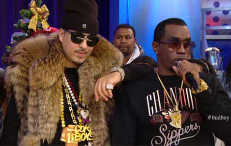 French Montana Diddy Uber Gay