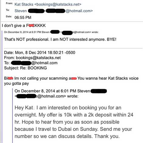 Katt Stacks Dubai Prostitute