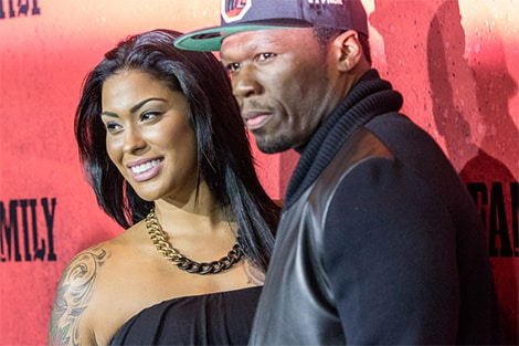 50cent Tatted Holly Breakup