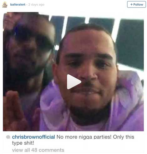 No More Black Clubs for Chris Brown