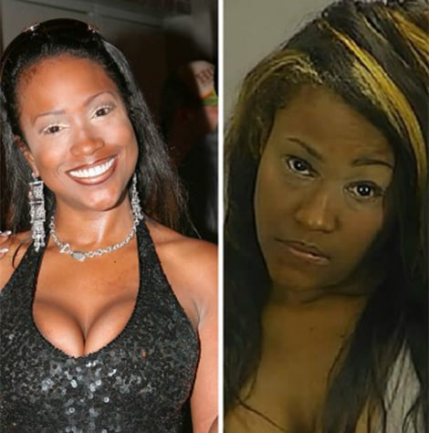 Maia Campbell 2015 Arrest