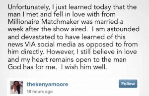 Kenya Moore Married Man