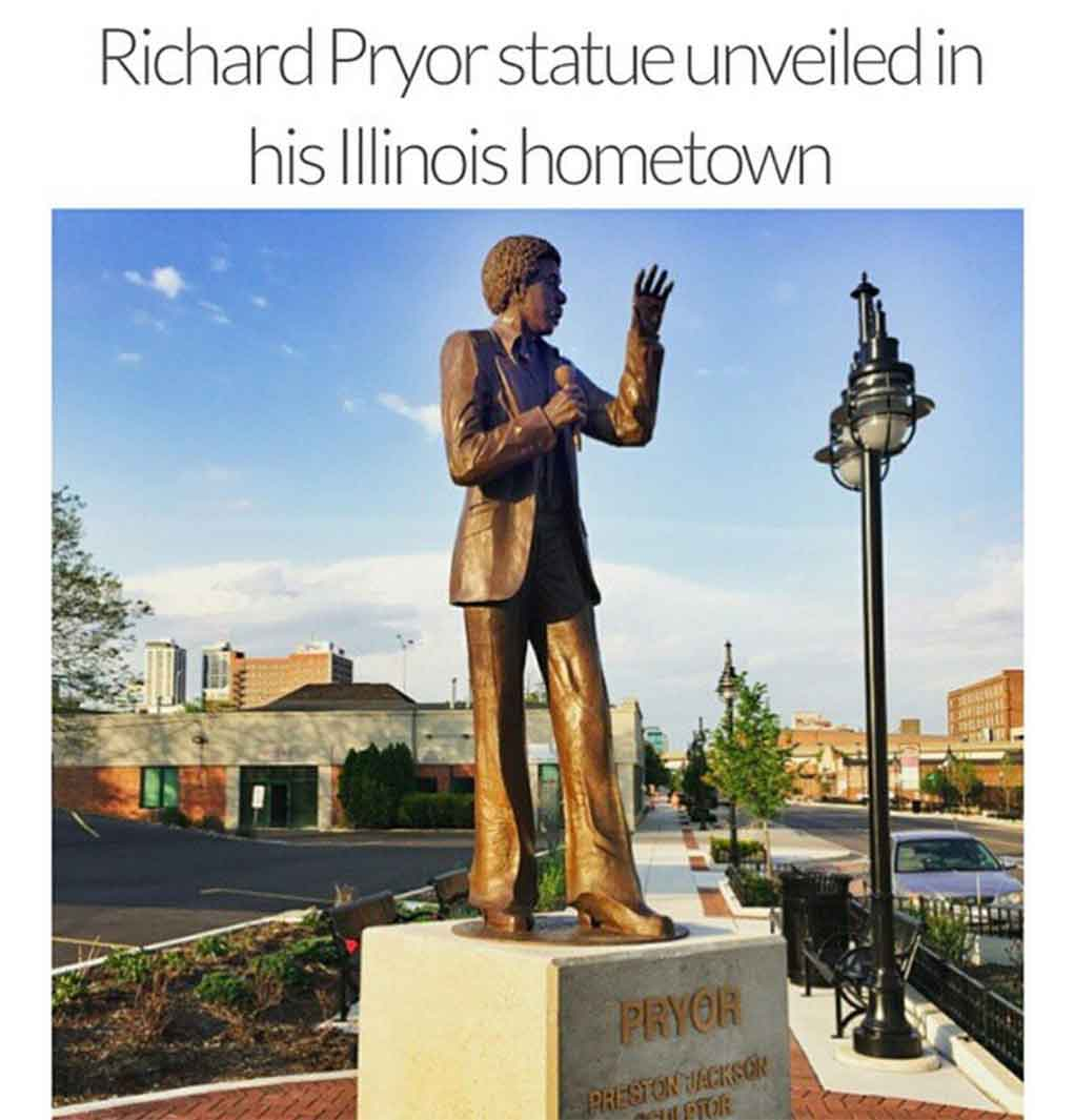 Richard Pryor Monument