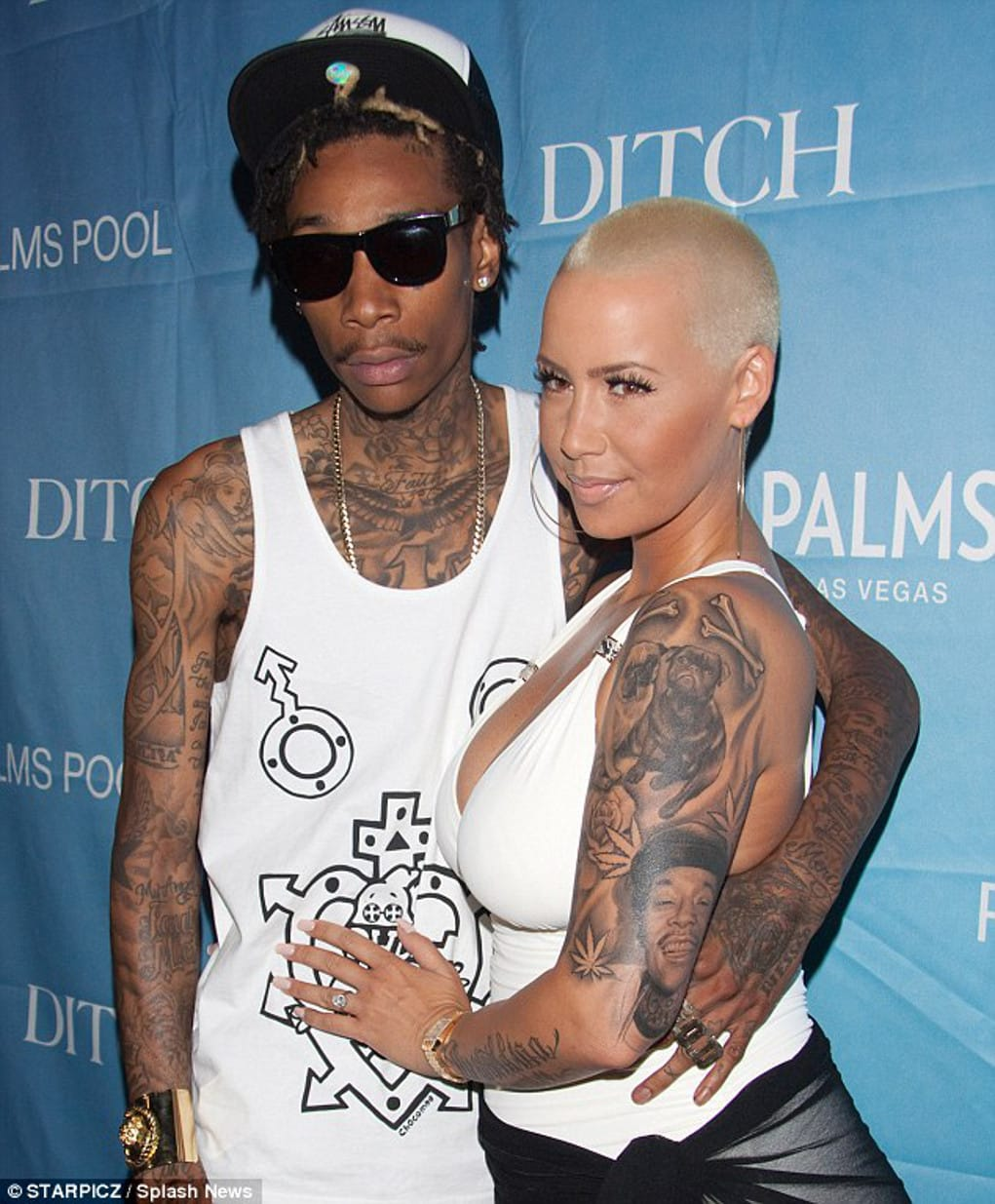 amber rose wiz khalifa tattoo removed