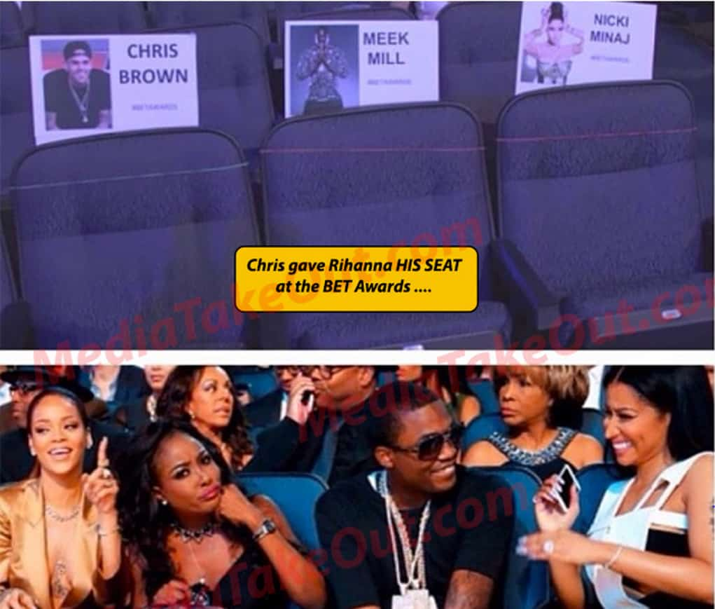 rihanna chris brown back together bet awards
