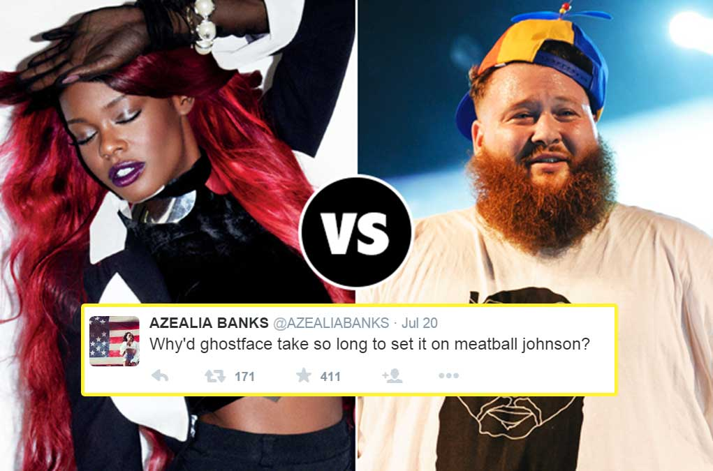 Azalea Banks vs Action Bronson