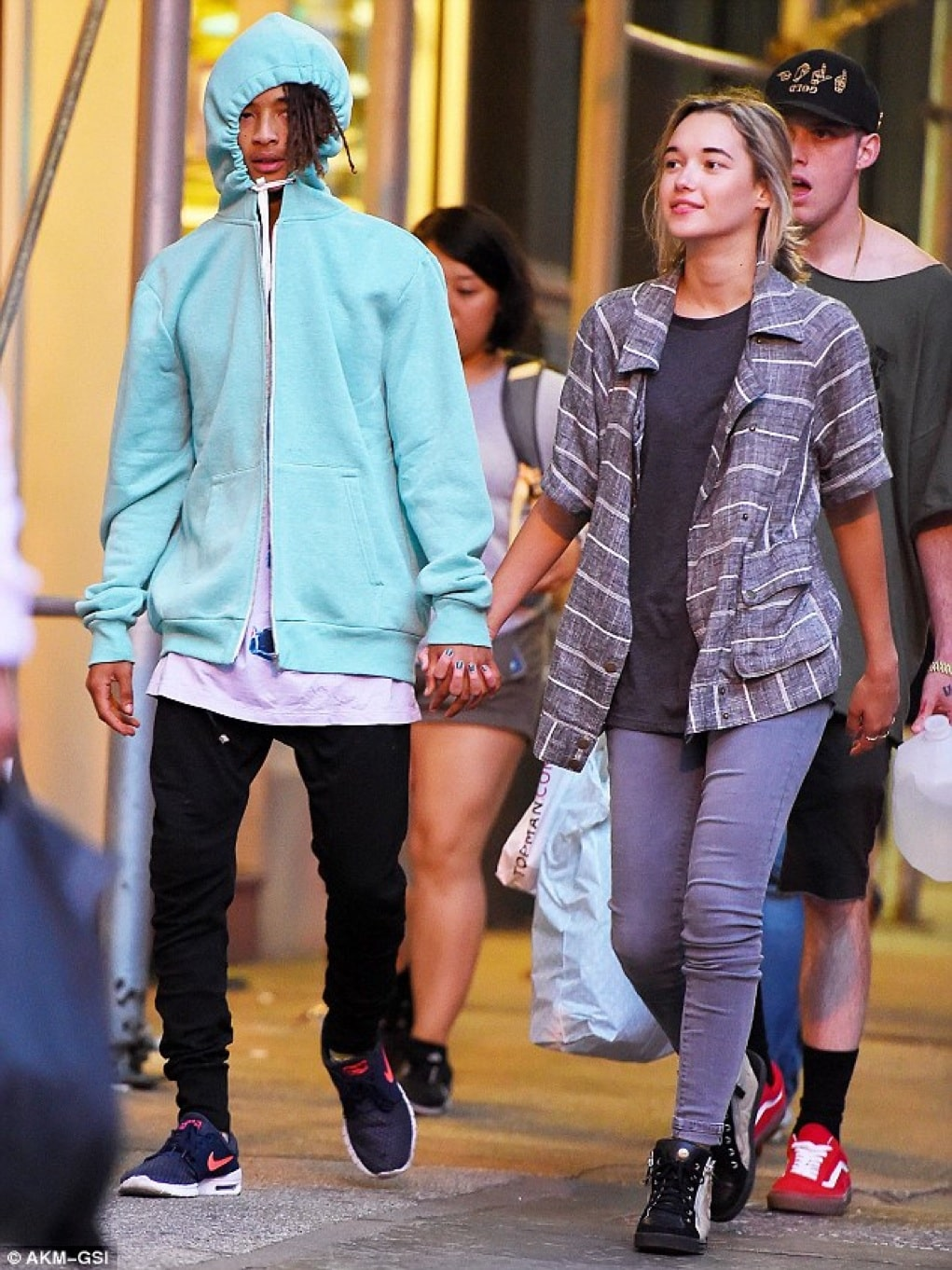 jaden smith's new girlfriend has a criminal past