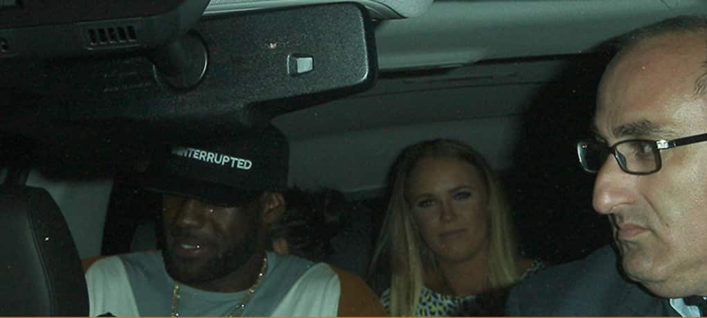 lebron drunk white girls