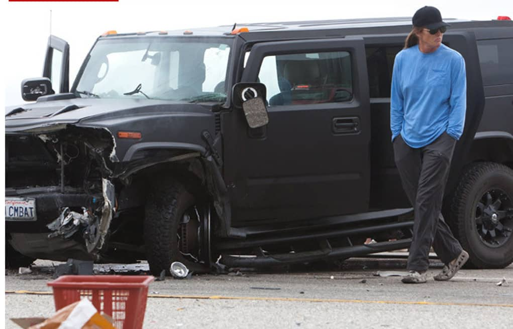 What Was Caitlyn Jenner S Car Accident