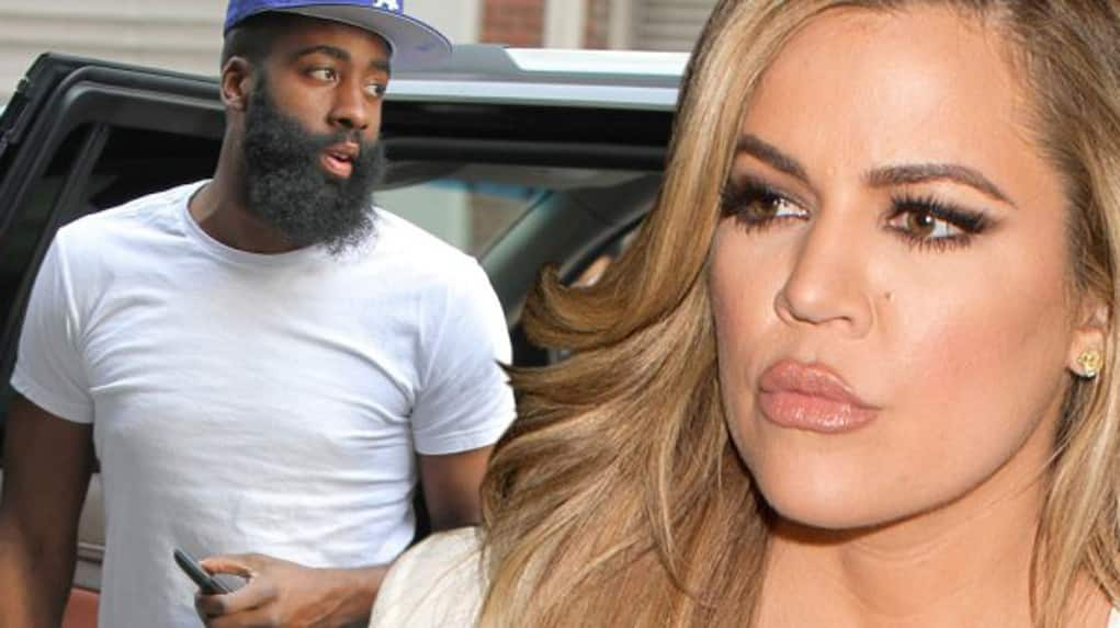 james harden khloe cheating