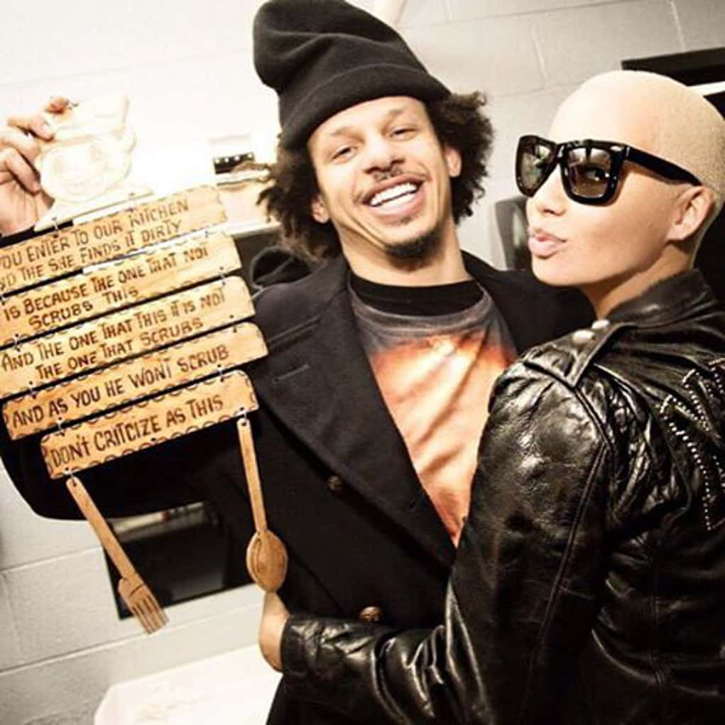 amber rose eric andre
