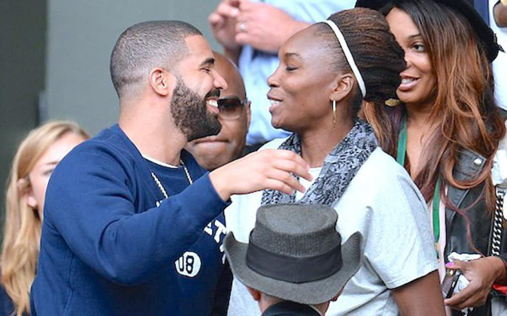drake serena williams engaged