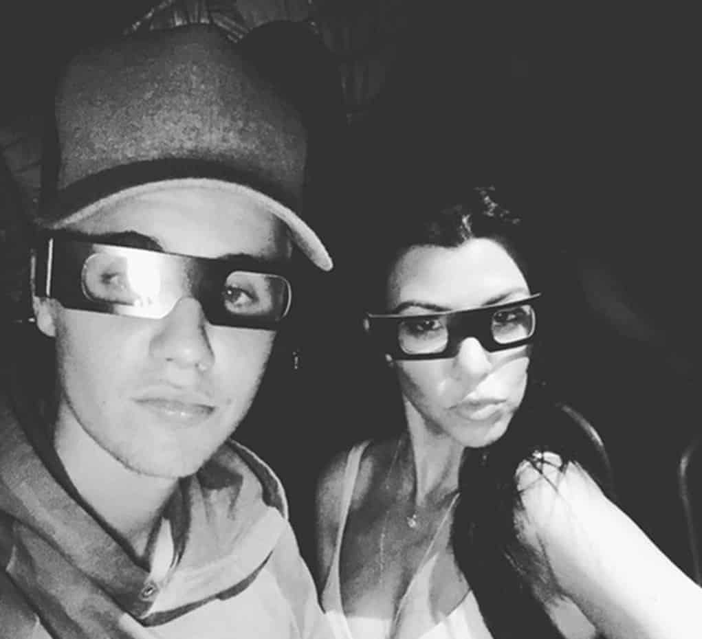 justin bieber kourtney kardashian dating 3