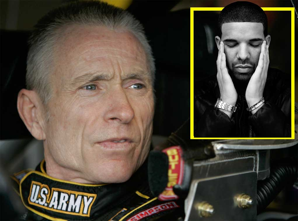 Drake-Catches-Shade-From-NASCAR-World-