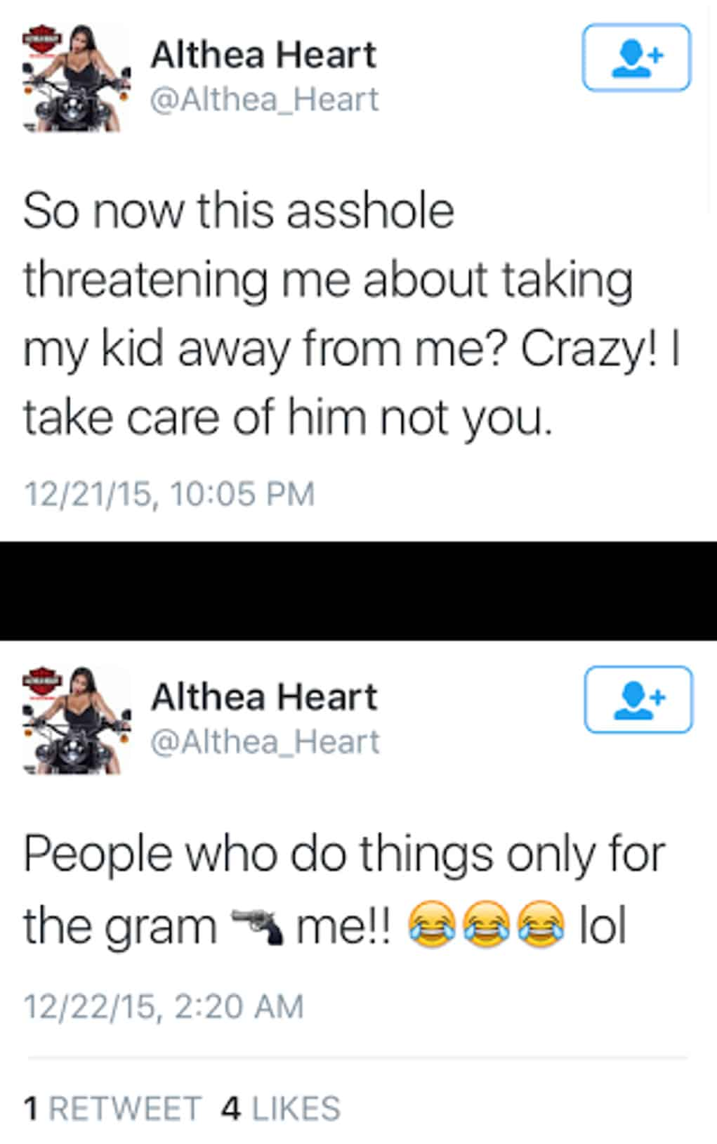 benzino althea heart tweet 2