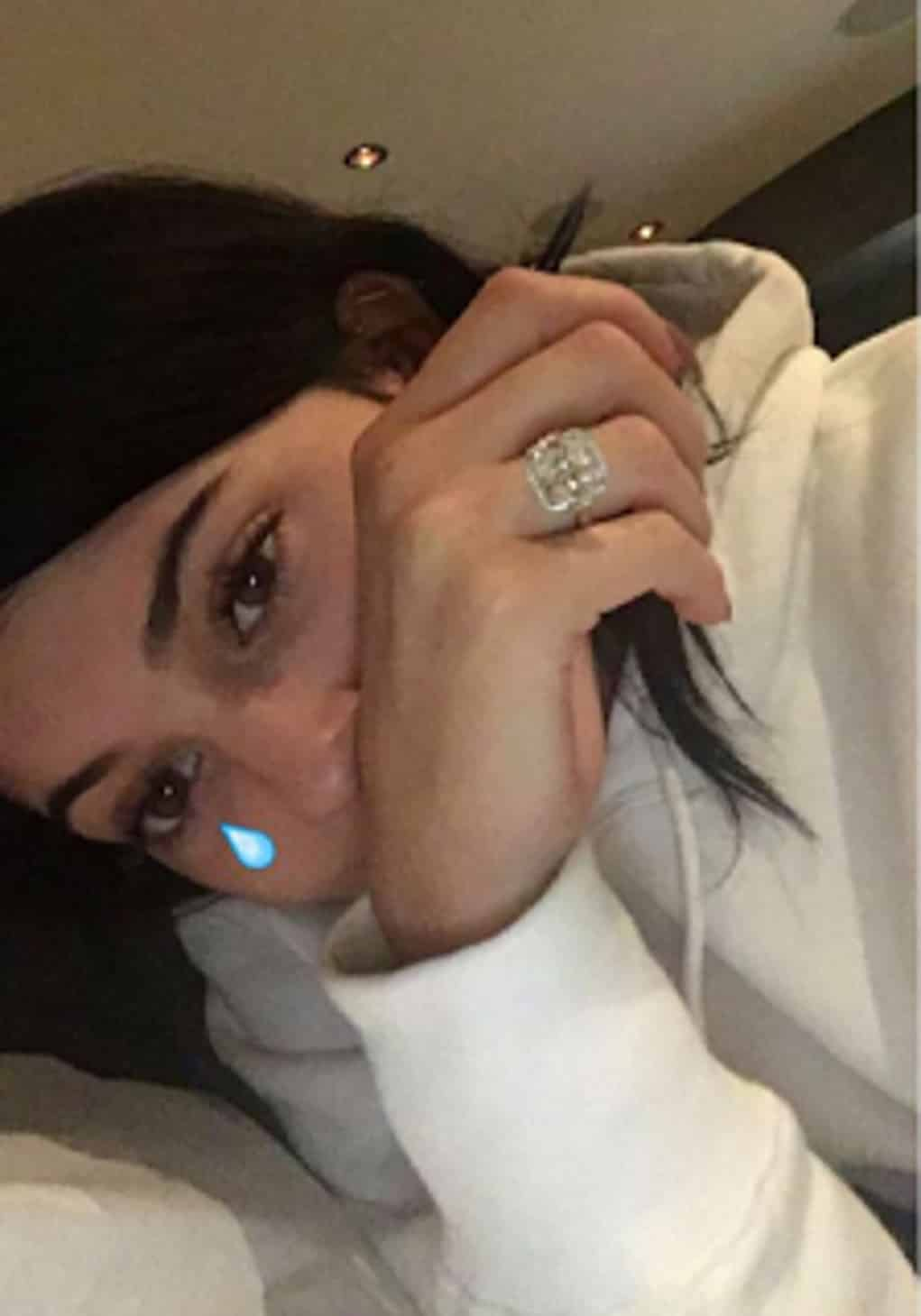 kylie jenner tyga ring