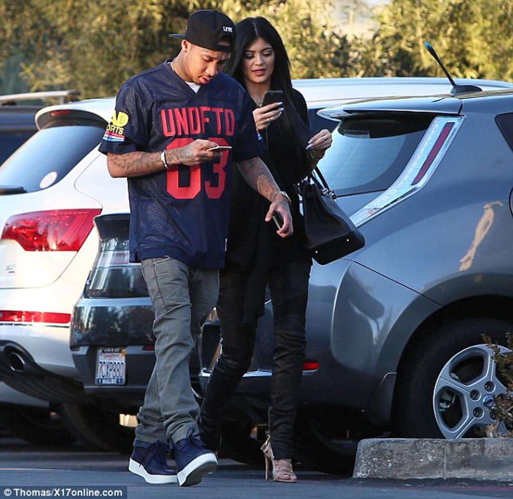 tyga kylie jenner cheating