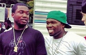 50 cent meek mill beef