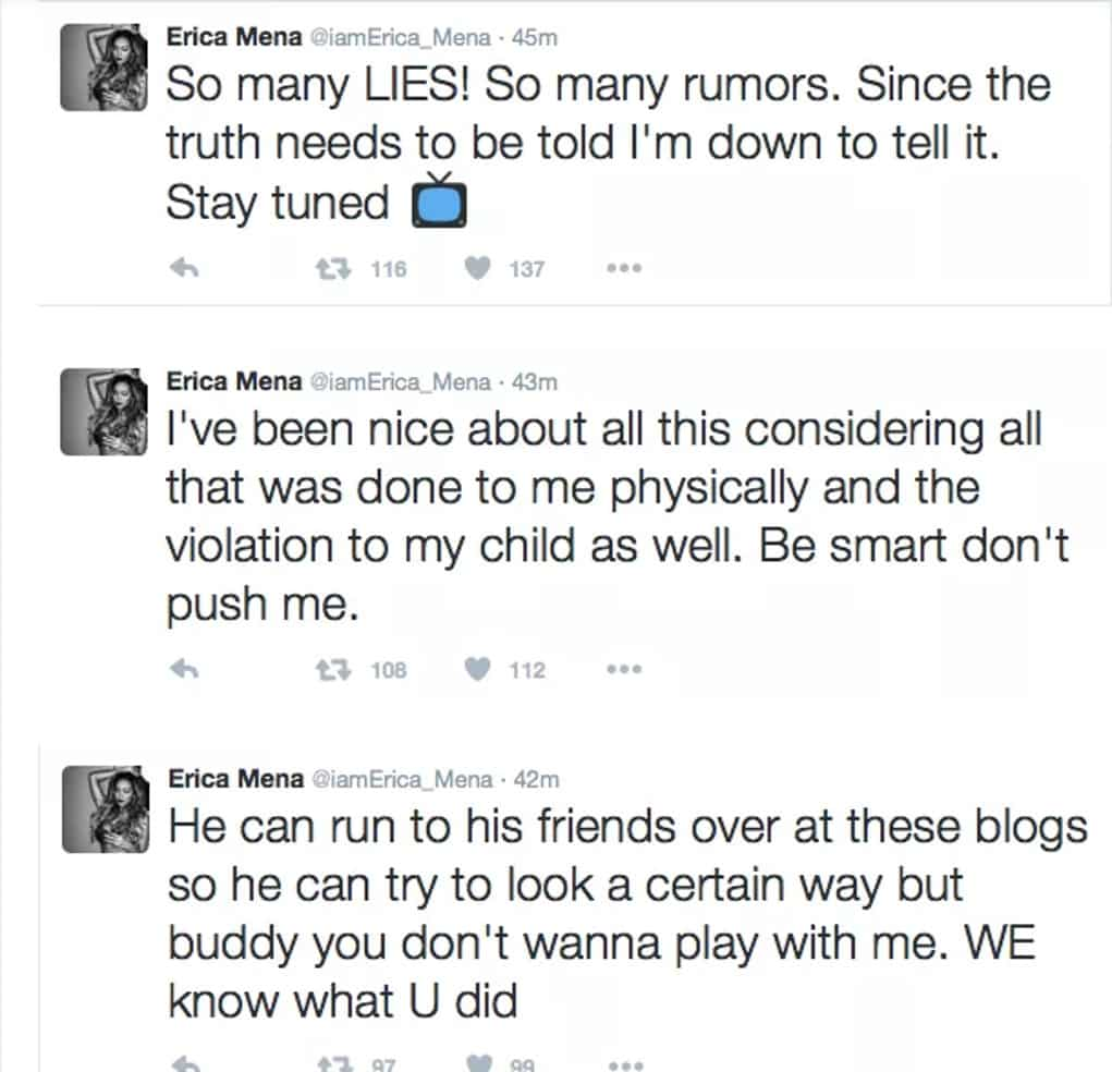 bow wow erica mena abuse