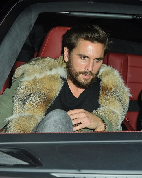 Scott Disick chris brown