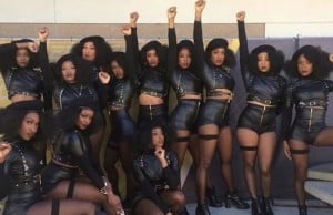 beyonce super bowl dancers exposed
