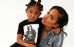 christina milian violet daughter makeup