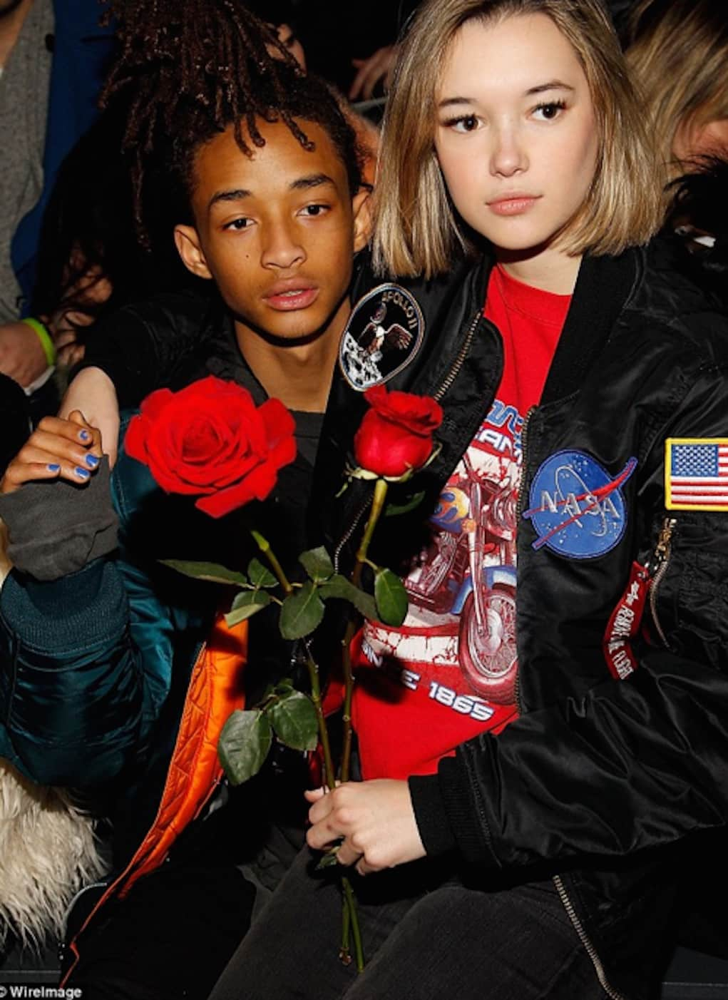jaden smith girlfriend strung out