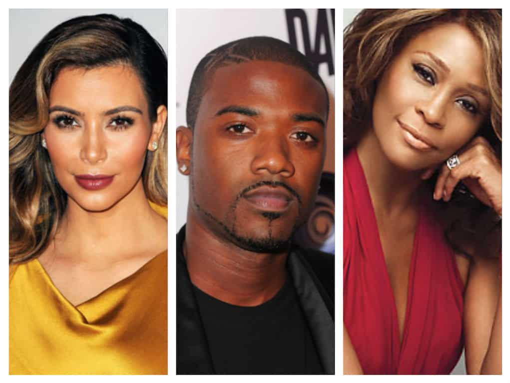 kim kardashian ray j whitney houston