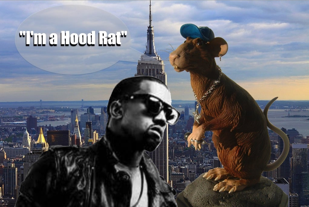 Kanye West Takes Gotham The Ghetto-Real Way No Video Models Need Apply-9265