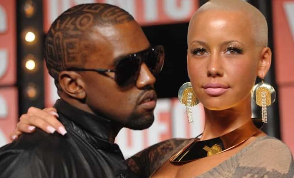 amber rose paid off kanye west