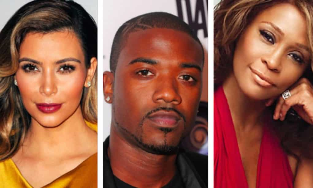 ray j kim kardashian whitney houston