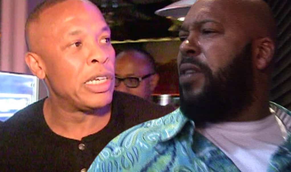 dr dre hit out suge knight