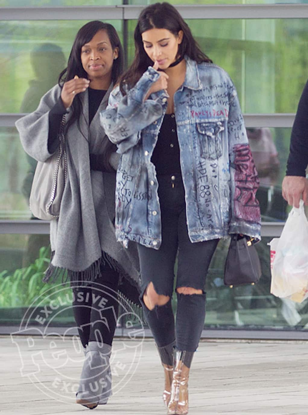 kim kardashian raquel smith hospital
