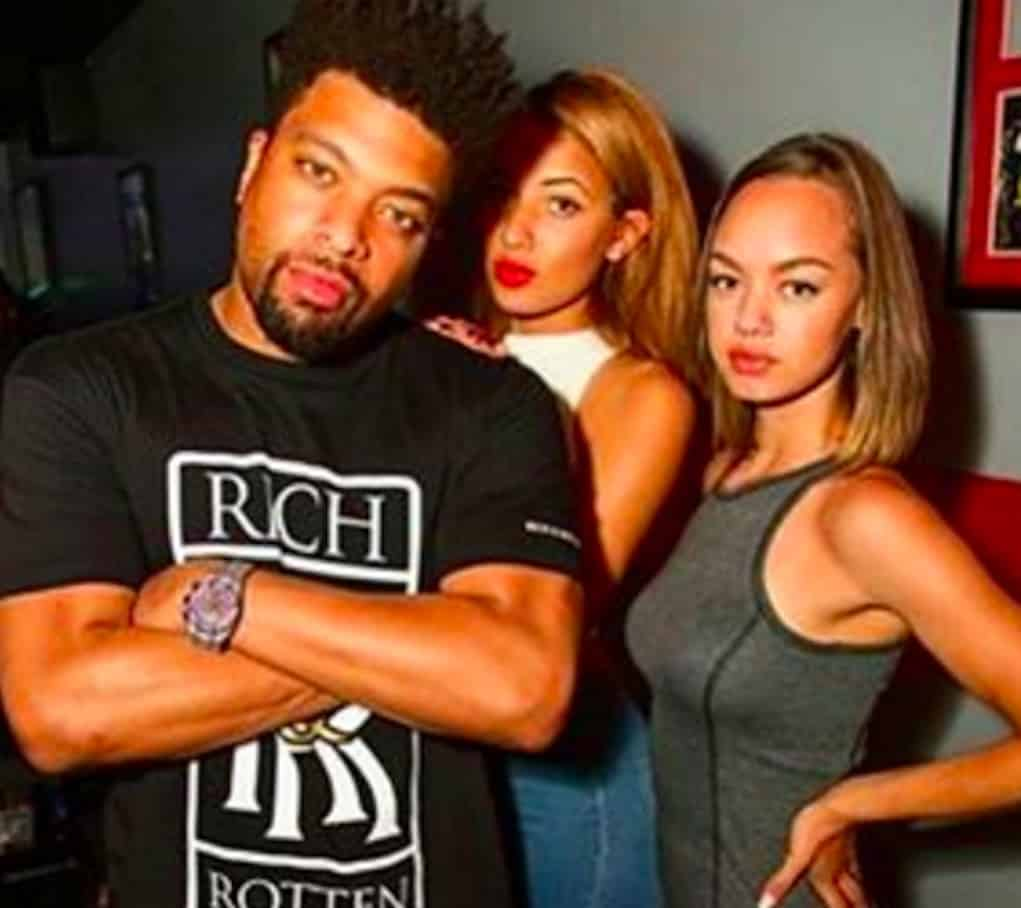 deray davis two girlfriends