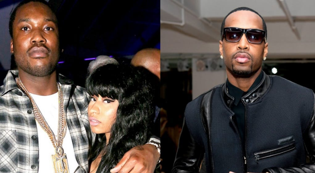 safaree meek mill death threats