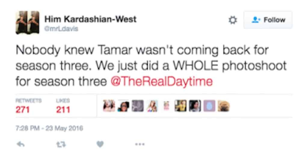 tamar braxton fired the real 4