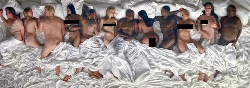 ray j manager kanye west famous video