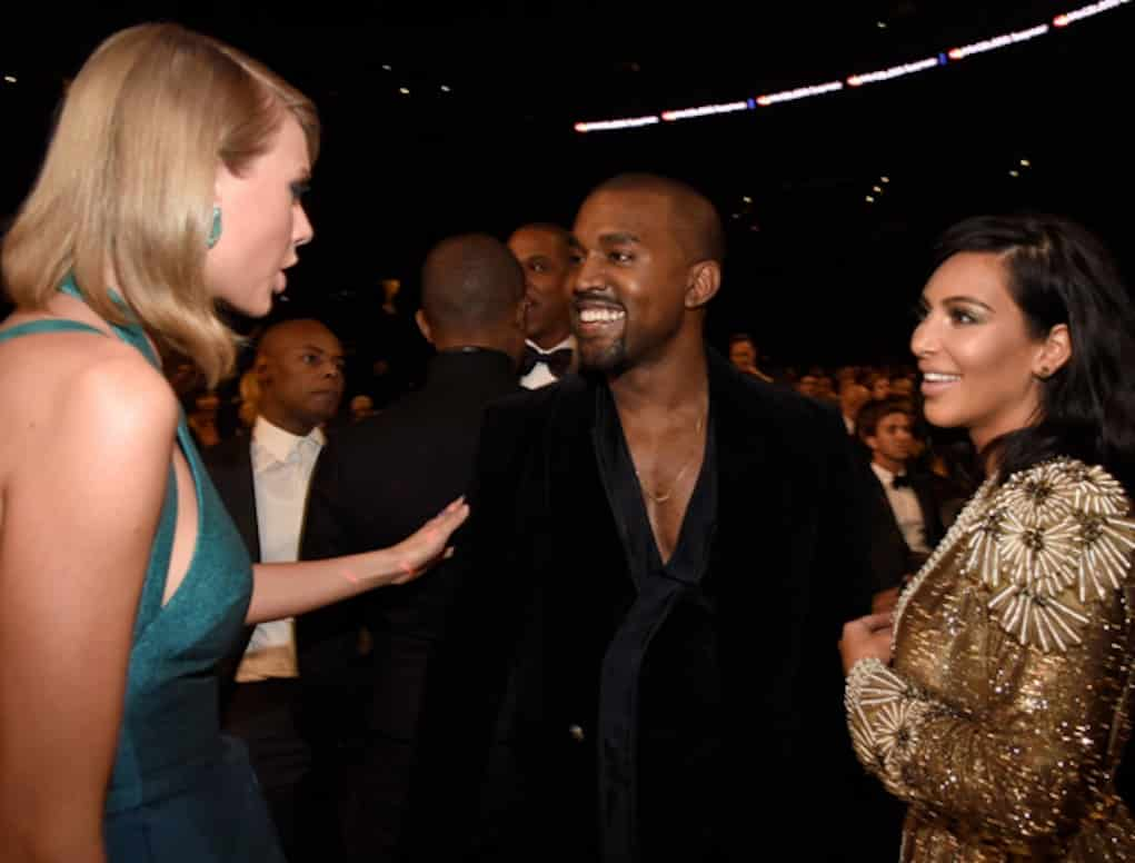 taylor swift lied kanye west kim kardashian famous