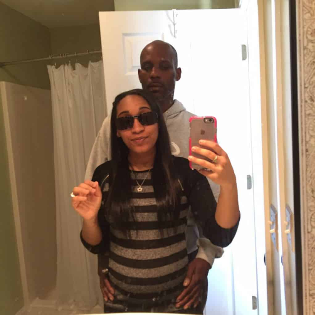 dmx girlfriend gave birth baby